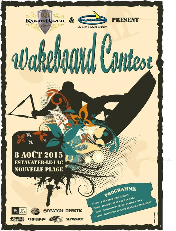 Wakeboard et BMX Water Jump Contest